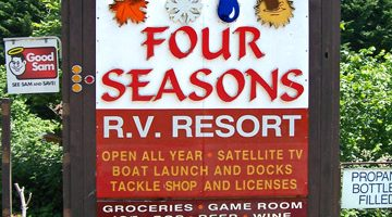 Four Seasons RV Resort, Gold Beach