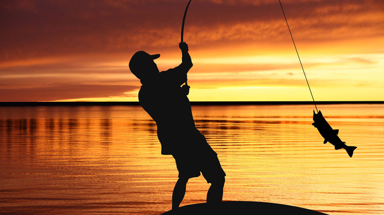 sunset-fishing