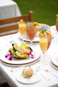 table setting outdoor