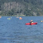 kayak tours of whiskeytown lake, shasta county california
