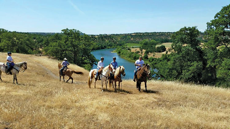 redding, horseback riding, NorCal trail rides, shasta county