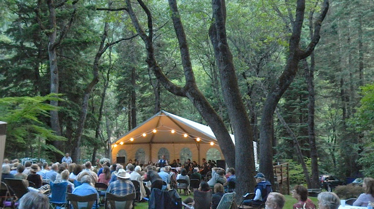 botanical gardens, siskiyou county, things to do, plays, performances
