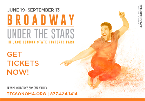 "Transcendence's ""Broadway Under The Stars"" in Sonoma Valley"