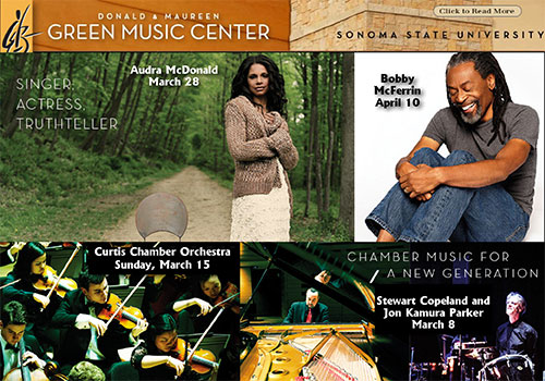 70. Experience Green Music Center at SSU