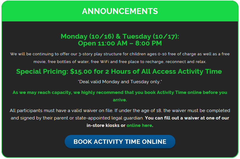 rebounderz waiver rebounderz-offer - 101 Things To Do Wine Country