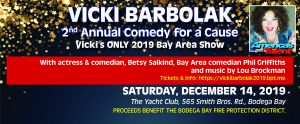 Comedy for a Cause @ Bodega Bay Yacht Club