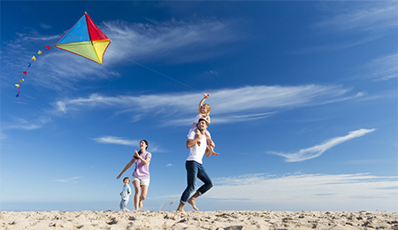 Fly a Kite on the Beach