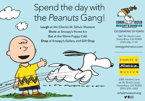 Spend the Day at Charles M. Schulz Museum